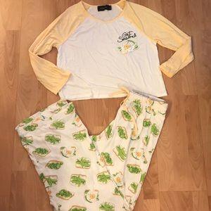 Avocado Pajama Set